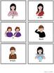 ASL American Sign Language Sight Words Pocket Chart Center - Primer