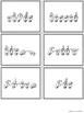 American Sign Language ASL Sight Words Pocket Chart Center - Third Grade