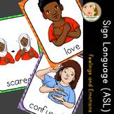 American Sign Language (ASL) - Signs of the Week (3 weeks) - Emotions