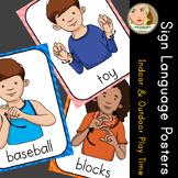 American Sign Language (ASL) - Signs of the Week (4 weeks) - Play Time Vocab