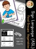American Sign Language (ASL) - Signs of the Week - Food Groups: Vegetables