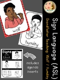 American Sign Language (ASL) - Signs of the Week - Wolf teaches Humility