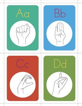 My ASL Classroom A-Z American Sign Language Alphabet