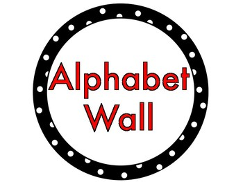 American Sign Language Alphabet Circles for Word Wall