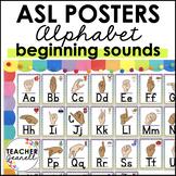 American Sign Language ASL Alphabet Posters (2 skin tones)