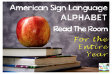 American Sign Language Alphabet Read the Room for the Entire Year