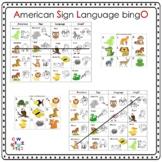 ASL Animal Bingo