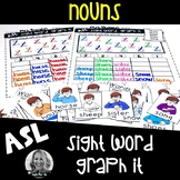 American Sign Language Centers Graph it NOUNS