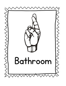 american sign language classroom management american sign language classroom management - Asl Bathroom