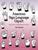 American Sign Language Clip Art (For personal and commercial use)
