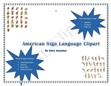 American Sign Language Clipart