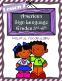 American Sign Language Elementary | Lesson 7 | ASL Helpful