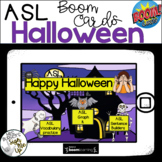American Sign Language Halloween BOOM CARDS™ Distance Learning