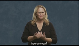American Sign Language Introductions