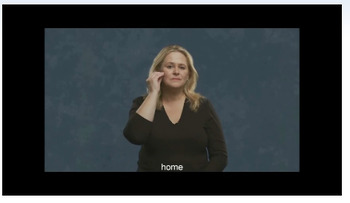 American Sign Language - Introductions, Family & Rooms in the house