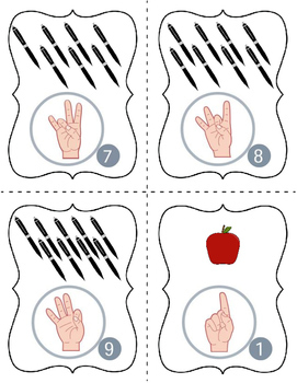 American Sign Language Letters and Numbers