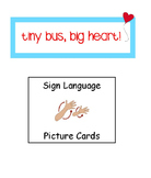 American Sign Language Picture Supports/Cards