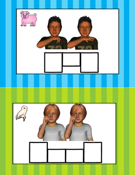 American Sign Language to English Set 3 and 4 Reading Supplement