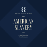 American Slavery: A Brief Overview