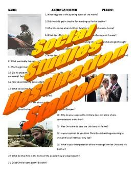American Sniper Movie Guide & Key
