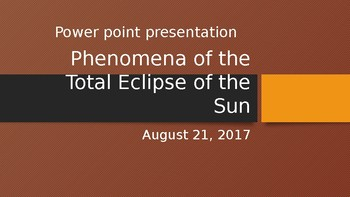 American Solar Eclipse of 2017