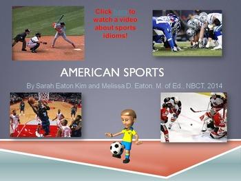American Sports PowerPoint Presentation