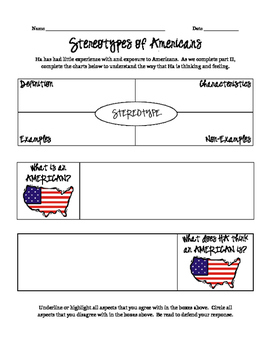 American Stereotypes (Inside Out and Back Again)