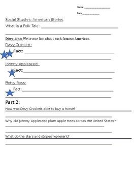 American Stories 2nd Grade Social Studies
