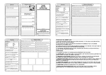 American Stories Comprehension Foldable Bundle