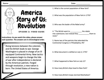 """American Story of Us - """"Revolution"""" - Complete Video Guide"""