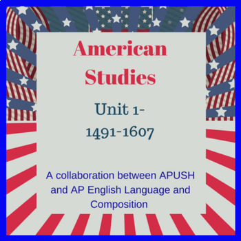 American Studies Period 1 14911607 AP English LitLang and Other