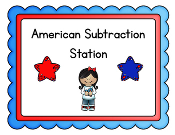 President's Day Subtraction Station