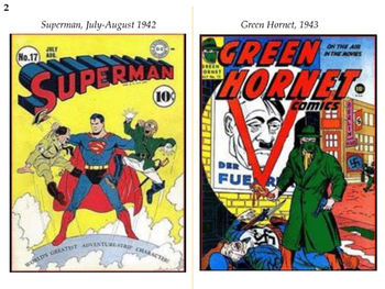 American Superheroes from World War II to the Cold War