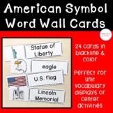 American Symbol Word Wall Cards