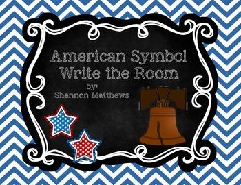 American Symbol Write the Room