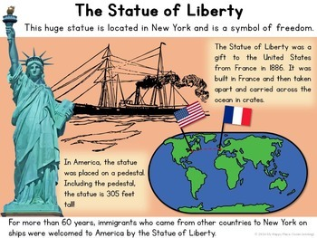 American Symbols Unit: PowerPoint and Interactive Folder