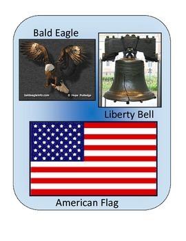 American Symbols #2: File Folder Activity
