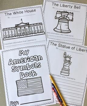 American Symbols Research Book