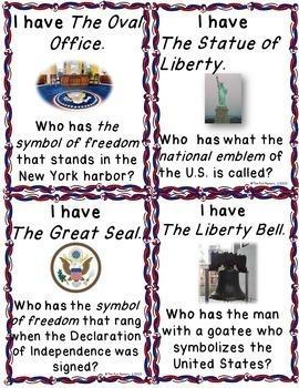 American Symbols ~ 3rd, 4th, & 5th Grades {Common Core Rich}