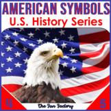American Symbols Worksheets   US Symbols   Presidents Day   PRINTABLE