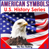 American Symbols Activities for  3rd, 4th and 5th Grades -