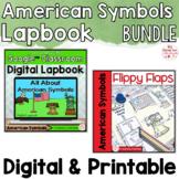 American Symbols Activities Interactive Notebook Digital a