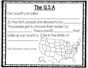 American Symbols Activity Book