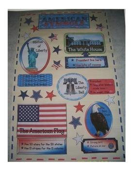 American Symbols Anchor Chart