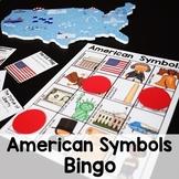 American Symbols Bingo Game