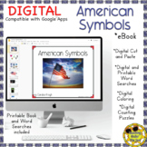 American Symbols Book Activity Google Distance Learning