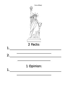 American Symbols Book Fact and Opinion