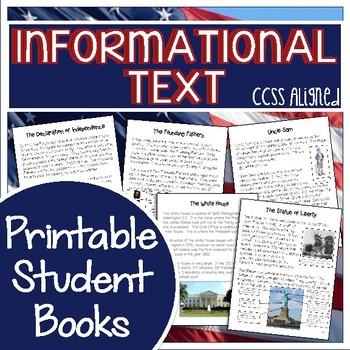 American Symbols Bundle {CCSS Reading & Writing & Art Projects}