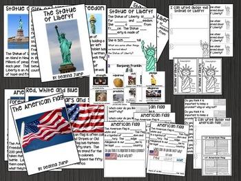 American Symbols Chit Chat Messages Close Reading Passages NO PREP