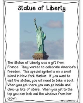 American Symbols & Citizenship   BUNDLE for Kindergarten & First Grade